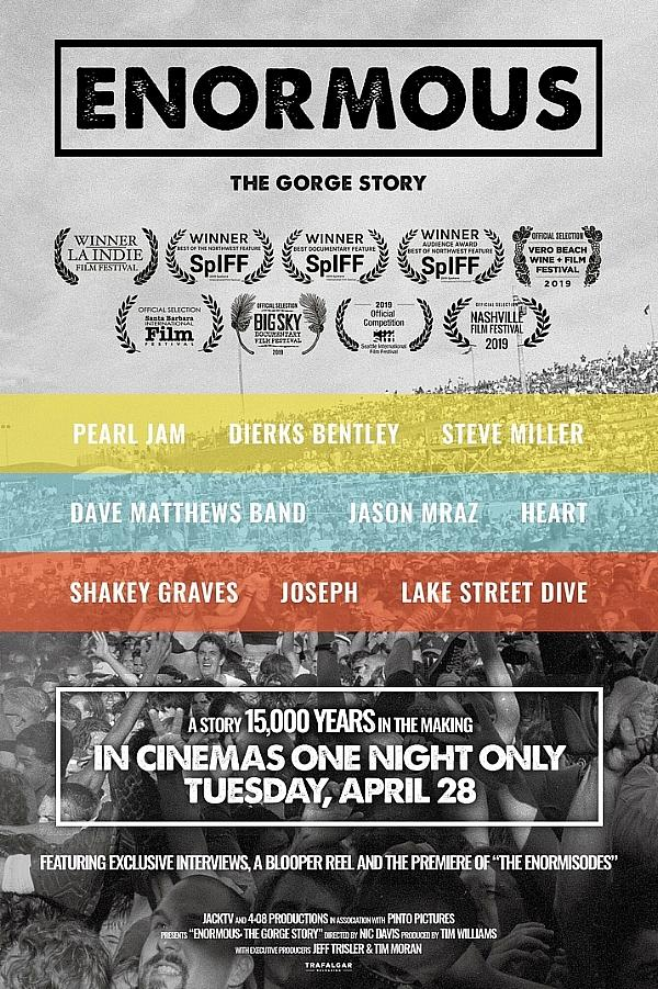 Trafalgar Releasing Presents Enormous: The Gorge Story in Cinemas Across The US For One Night Only On April 28