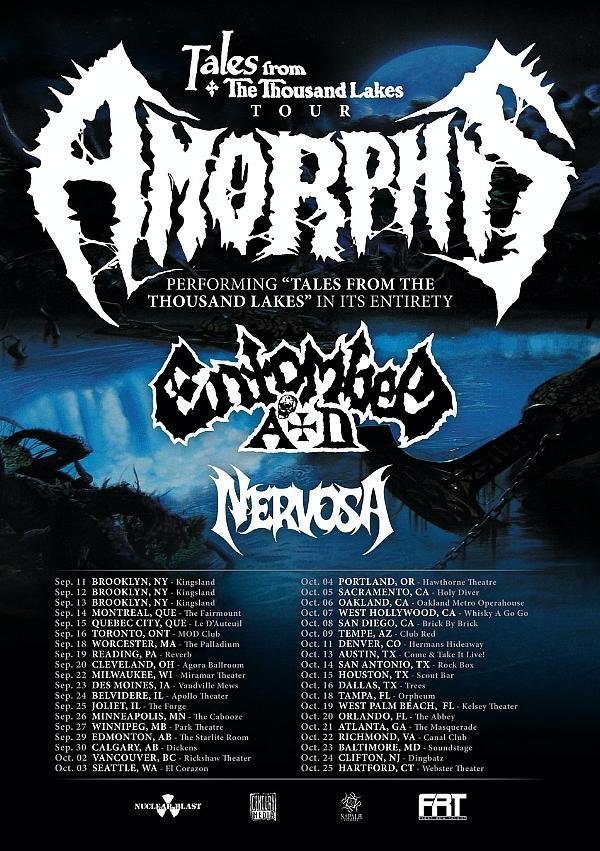 Brazilian Thrash Phenoms NERVOSA Announce North American Tour