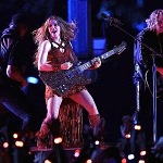 Shakira Delivers Electrifying, History-Making Performance at Pepsi Super Bowl LIV Halftime With New Gibson Firebird Guitar