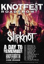 Slipknot Announce Knotfest Roadshow 2020 With Special Guests: A Day to Remember Underoath and Code Orange