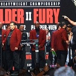 Wilder vs. Fury II: Weigh-In Photos & Results