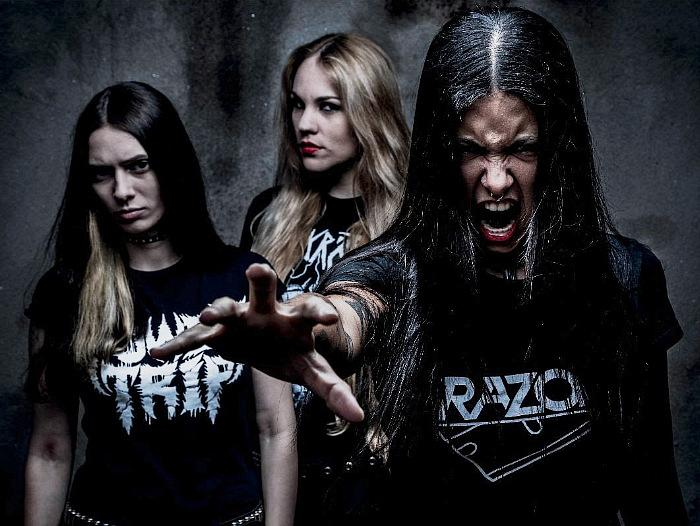 Brazilian Thrash Phenoms NERVOSA Announce North American Tour Dates Supporting Amorphis and Entombed AD