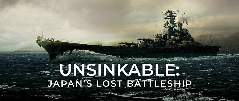"""Uncover World War II Secrets at The Bottom of The Sea with CuriosityStream's World Premiere Special """"Unsinkable: Japan's Lost Battleship"""""""