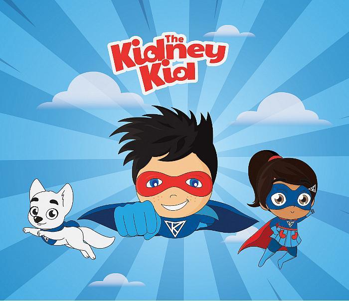 The Kidney Kid Superhero Initiative Goes International on World Kidney Day