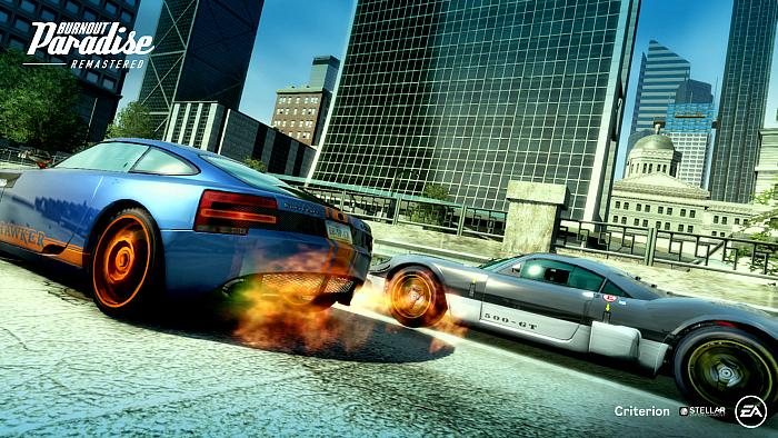 """Burnout Paradise Remastered"" Players Can Experience the Ultimate Driving Playground Online or On-The-Go for the First Time on a Nintendo Platform"