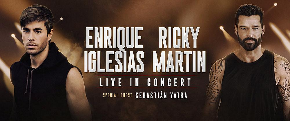 Global Superstars Enrique Iglesias And Ricky Martin Announce First Ever Co-Headlining Arena Tour In North America