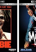 Blue Underground Set to Release ZOMBIE and MANIAC on 4K UHD Blu-Ray on May 26