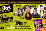 PeaTos Snacks, Dash Radio and Laugh Factory Say Laughter Can Be the Best Medicine