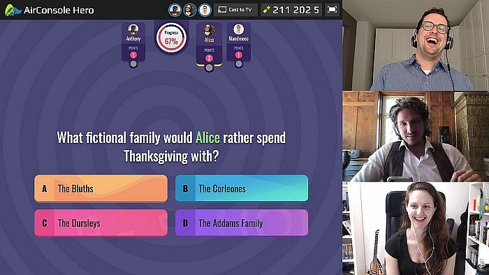 AirConsole Releases New Game With Video Chat Feature To Support Social Distancing During Coronavirus Crisis