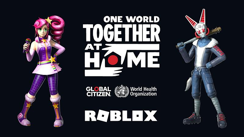 'One World: Together At Home' Global Special to Stream Live on Roblox this Saturday, April 18th at 11 a.m. PDT