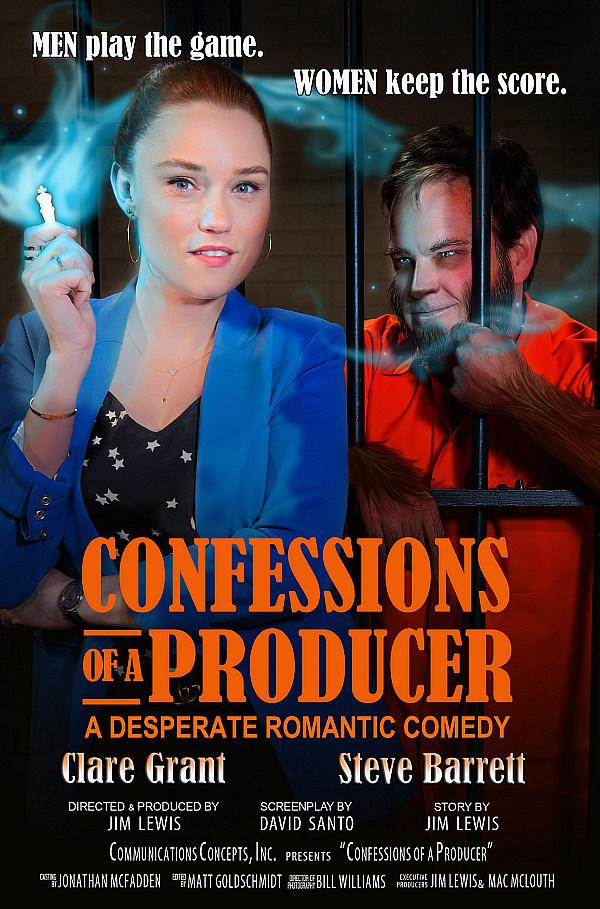 """Confessions of a Producer"" with Clare Grant and Steve Barrett Premieres on Amazon Prime / Instant Video"