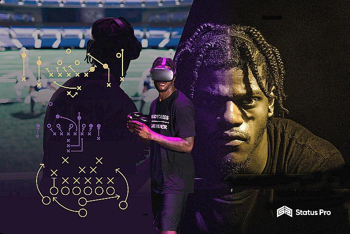 """Status Pro Partners With NFL MVP Lamar Jackson, To Produce """"The Lamar Jackson Experience"""" Through A Suite Of VR Products Which Includes An At-Home Virtual Reality Game"""