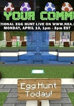 World's Largest Online Minecraft Egg Hunt Eggstravaganza to benefit Tyler Robinson Foundation Monday, April 13