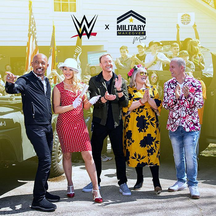Military Makeover with Montel Teams Up with WWE to Find Their Next Military Family