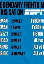 Muhammad Ali-Joe Frazier Trilogy Headlines Special Encore Boxing Presentation on ESPN