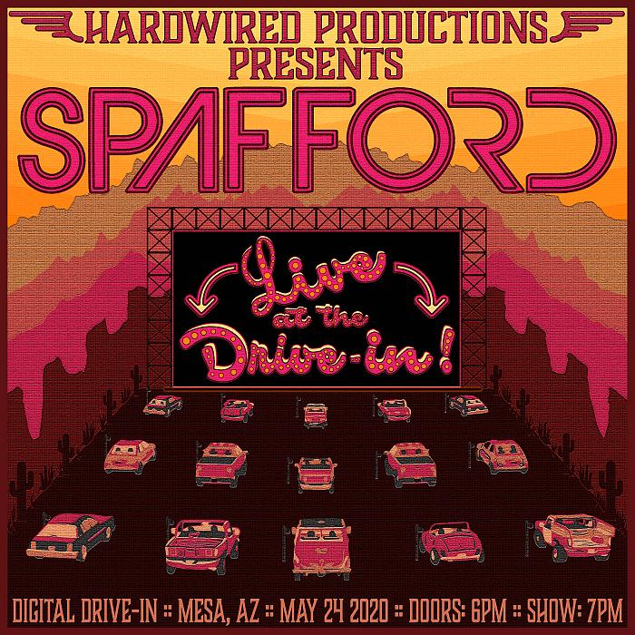 Spafford Announces Live at the Drive-In May 24, 2020