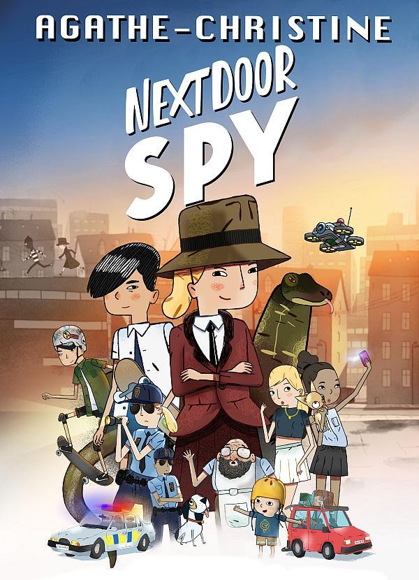 "Family Animation ""Agathe-Christine: Next Door Spy"" Receives U.S. Digital Release"