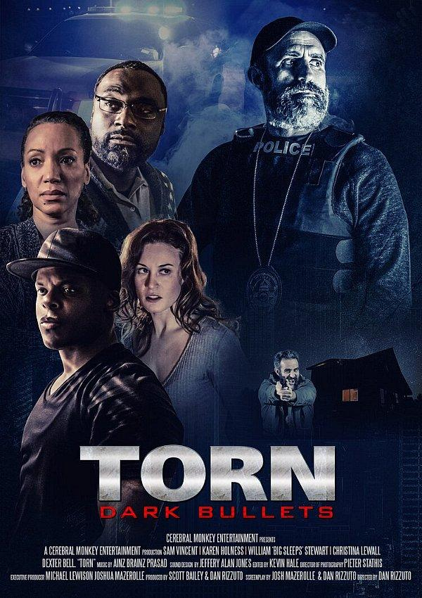 "Directorial Debut Captures Attention with Release on Amazon Prime Video for Feature Film ""Torn: Dark Bullets"" by Filmmaker Dan Rizzuto"