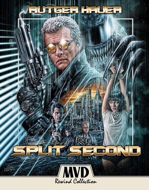 SPLIT SECOND Starring Rutger Hauer Makes Its Long-Awaited Debut On Blu-ray Via MVD REWIND COLLECTION