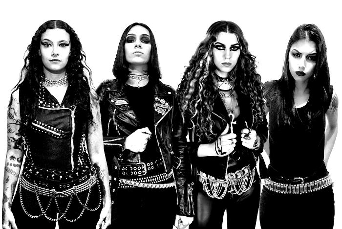 Brazilian/Dutch Death Metal Quartet CRYPTA Officially Signs with Napalm Records! | Featuring Former Members of NERVOSA