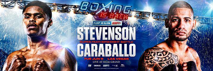 Shakur Stevenson-Felix Caraballo Conference Call Transcript; Fight Scheduled for June 9 at MGM Grand